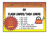 EA FLASHCARDS, TASK CARDS and Teaching Notes