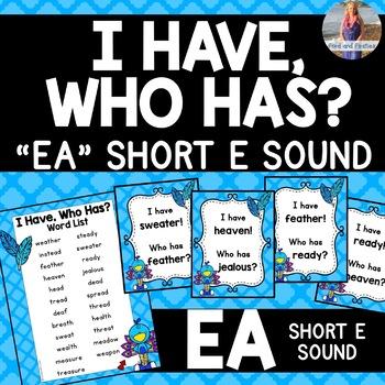 "EA Short E ""I Have, Who Has?"""