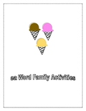 EA WORD FAMILY ACTIVITIES