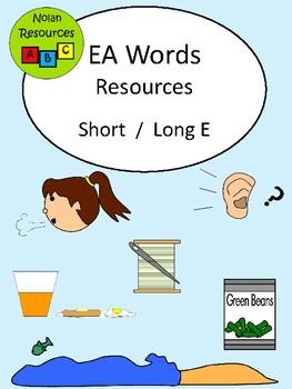 EA Words Resource Packet