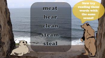EA (beach, break, head) Orton Gillingham Lesson
