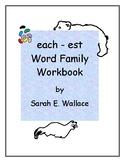 EACH-EST WORD FAMILY ACTIVITIES
