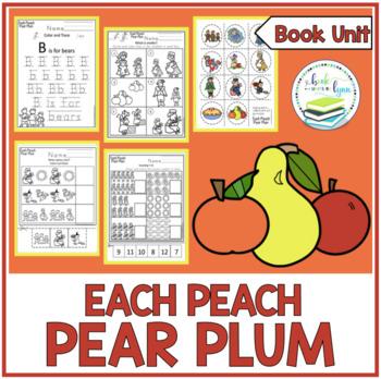 EACH PEACH PEAR PLUM BOOK UNIT