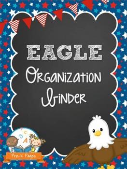 EAGLE Student Organization and Parent Communication Binder {personalize it}
