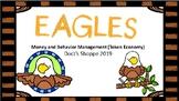 EAGLES Classroom money and behavior management (Token Economy)