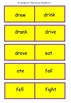 EAL/ESL/ EFL / ELD Irregular verb present and past tense dominoes game