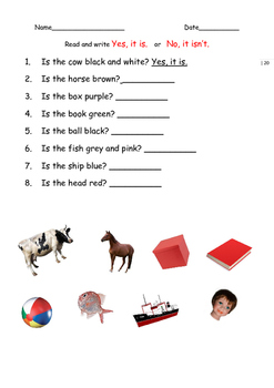 EAL / ESL/ EFL / ELL/ ELD Worksheets and Games for Emergent Learners