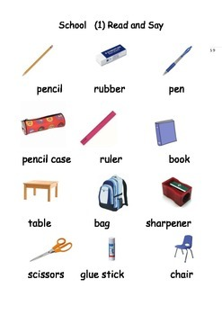 ESL / EAL / ELL /EFL Vocabulary worksheets and games for Initial Learners