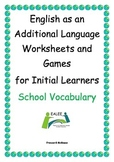 ESL / EAL / ELL /EFL Vocabulary worksheets and games for I