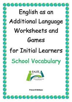 ESL / EAL / ELL /EFL Vocabulary worksheets and games for I