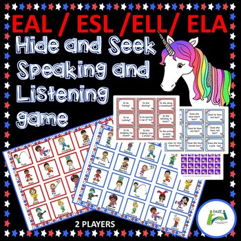EAL /ESL / ELL / ELA Speaking and Listening Game