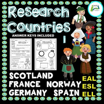 EAL / ESL / ELL / ELD Research Countries of the World (1)