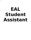 EAL/ESL Student Assistant (Tutor/Conversation Partner Manual)
