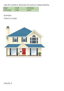 EAL Literacy Topic 20 - House