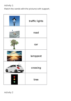EAL Literacy Topic 4 - In the street