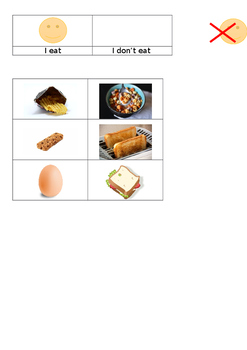 EAL Literacy Topic 8 - Lunch box