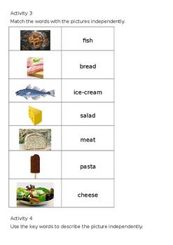 EAL Literacy Topic 9 - Food