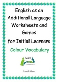 ESL / EAL / ELD / EFL Vocabulary worksheets and games for Initial Learners