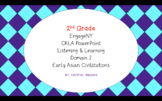 EARLY ASIAN CIVILIZATIONS CKLA BUNDLE Domain 2 ALL LESSONS!!!