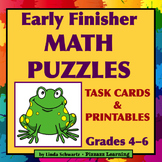 EARLY FINISHER MATH PUZZLES  • FUN!
