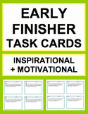 EARLY FINISHER TASK CARDS BUNDLE