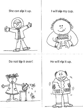 EARLY READERS' WORD-FAMILY Mini-Books (id - ib - ip - im)