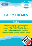 EARLY THEMES: THE SEA- EARTH–ALL KINDS OF SEA CRAFT ETC EBOOK UNIT (Rec, Y1, Y2)
