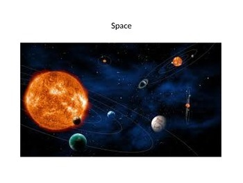 EARTH AND SPACE TOPIC POWERPOINT FREE - USE WITH PECS