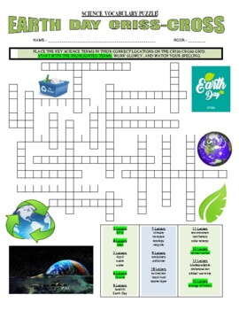 EARTH DAY (2 Articles / 1 Puzzle) / Sub Plans