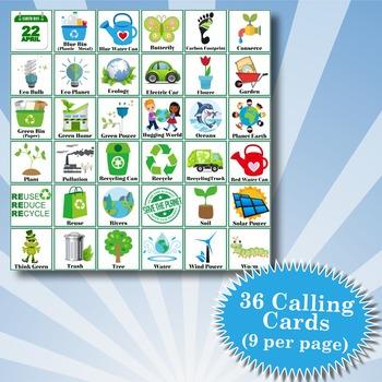 EARTH DAY 5x5 Bingo