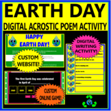 EARTH DAY ACROSTIC POEM ACTIVITY - LAL DISTANCE LEARNING/ALL DIGITAL