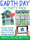 EARTH DAY ACTIVITIES {Audio Book, Craftivity & Take home Activity}