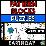 EARTH DAY ACTIVITY KINDERGARTEN, 1ST GRADE PATTERN BLOCKS