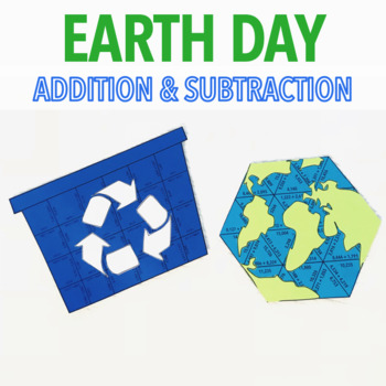 EARTH DAY ADDITION AND SUBTRACTION PROJECT