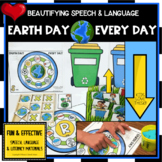 EARTH DAY ARTIC FEEDING MOUTH  SPEECH THERAPY