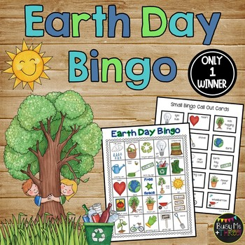 EARTH DAY BINGO Game {25 Different Bingo Cards}