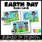 EARTH DAY BOOM CARDS BUNDLE (SPANISH) Distance Learning
