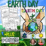 Earth Day Activity,  Close Reads Unit, Collaborative Poster, Writing Activity