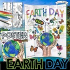 EARTH DAY, COLLABORATIVE POSTER, WRITING ACTIVITY, GROUP PROJECT