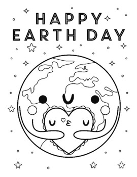EARTH DAY COLORING, BUNDLE 12 PAGES, EARTH DAY ACTIVITIES, EARTH DAY ART