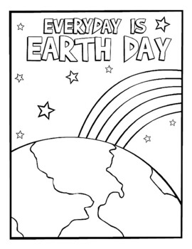 EARTH DAY COLORING BUNDLE 12 PAGES ACTIVITIES ART