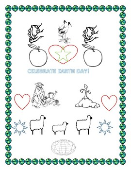 EARTH DAY COLORING PAGE K-3