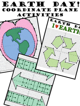 EARTH DAY COORDINATE PLANE PICTURES