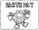 EARTH DAY CUT AND PASTE FREEBIE