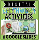 DIGITAL EARTH DAY ACTIVITIES IN GOOGLE SLIDES™