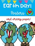 EARTH DAY POSTERS & WRITING PAPER ~ ACTIVITIES