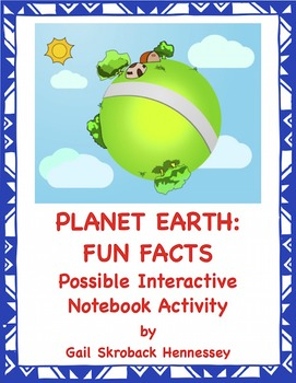EARTH DAY FREEBIE: Possible Interactive Notebook Activity