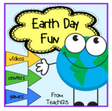 EARTH DAY Fluency Activity Reader Foldable