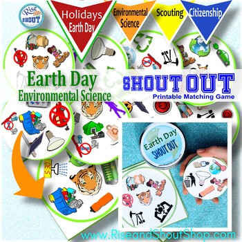 EARTH DAY GAME Environmental Science SHOUT OUT Game; Spot
