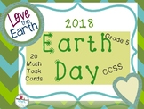 2018 EARTH DAY GRADE 5 MATH TASK CARDS